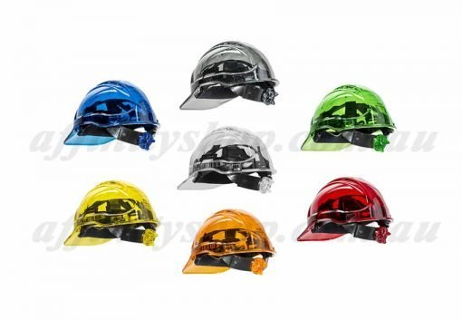 ratchet hard hat clearview clear work caps head protection fpr63cvr