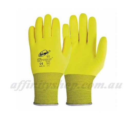 Ninja HPT Hi Vis Gloves P4001HV Work Glove