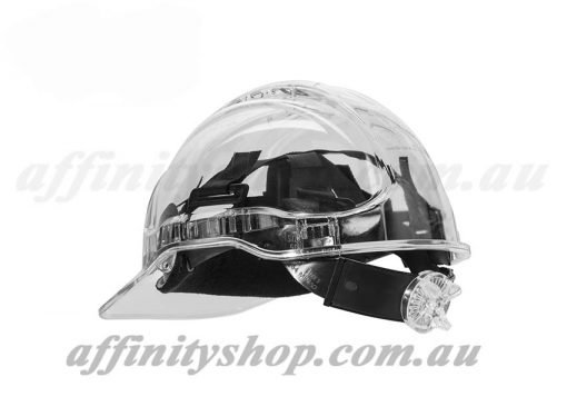 ratchet clearview hard hat work cap head protection cv63r