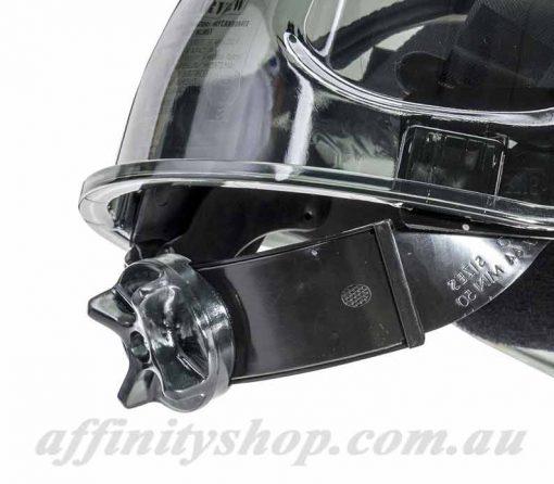 ratchet hard hat clearview fpr63cvr work head protection