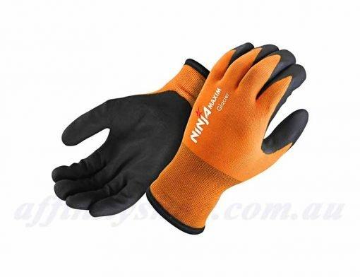 Ninja-Glacier-Winter-Work-Gloves-Hi-Vis-Fluro-Orange-NIGLACIER