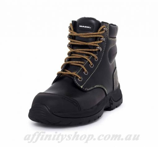 mack chassis work boot black