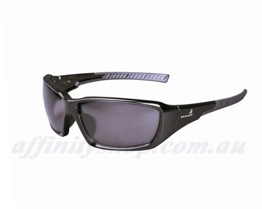 mack flyer polarised safety glasses black me527