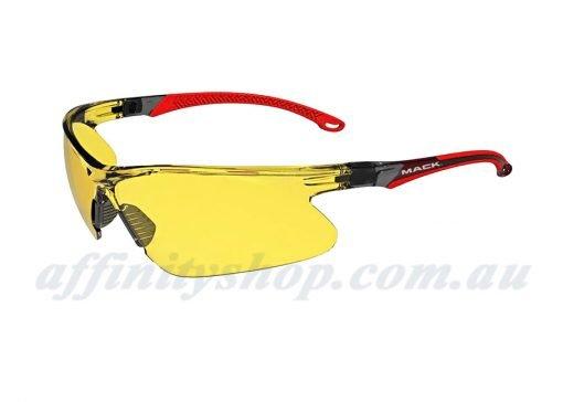 mack wave safety specs amber lens mkwave