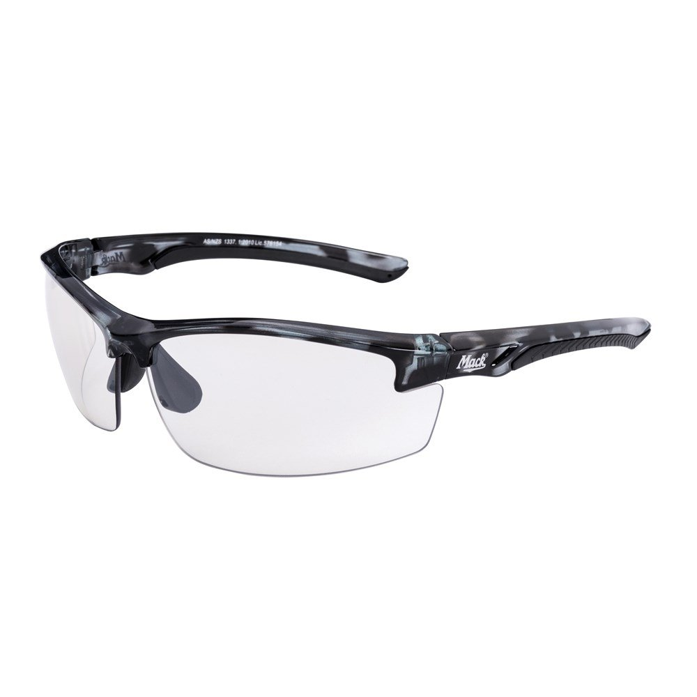 mack force clear lens safety glasses me522
