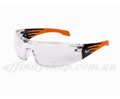 mack axel clear safety glasses me500c work eyewear