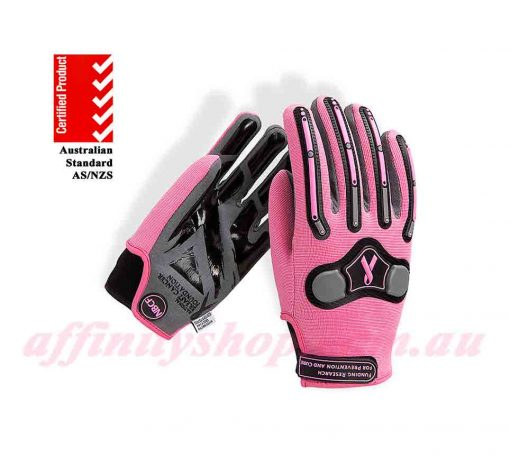 nbcf mechanics glove pink NBCF01G work gloves