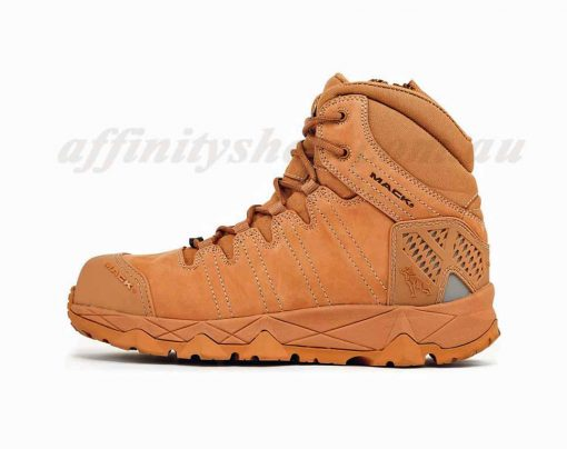 mack octane work boot honey mkoctanez