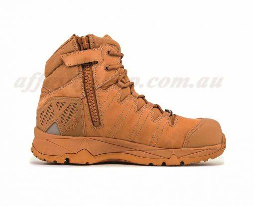 mack octane zip work boots honey mkoctanez