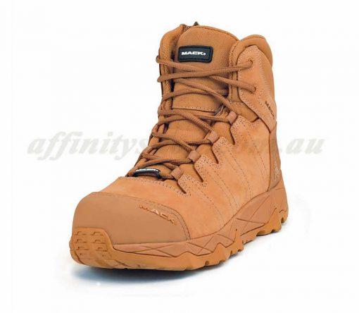 mack octane work boots zip honey mkoctanez