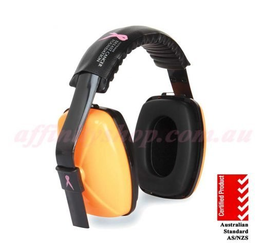 nbcf zero earmuffs 29db orange nbcf64h