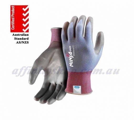 ninja diamond cut 3 razr gloves NIDIAMNC3