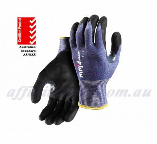 ninja maxim cut 5 gloves NIMAXIMC5