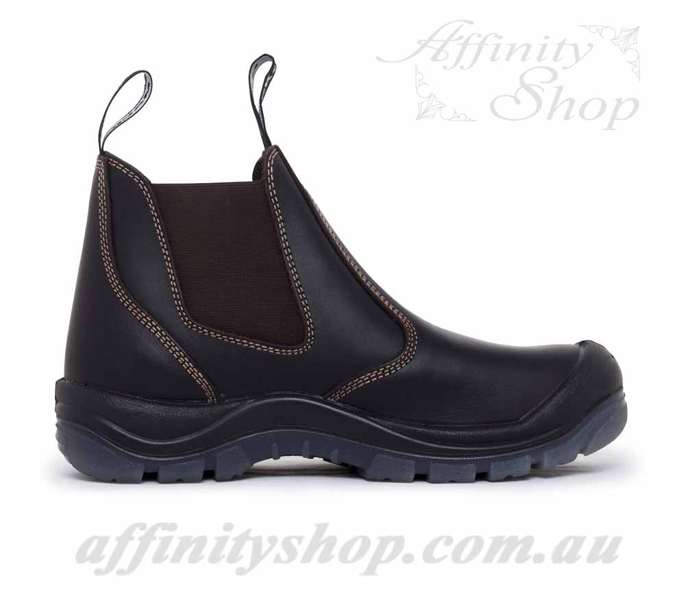 Mack Piston Work Boots Quality Leather Safety Footwear
