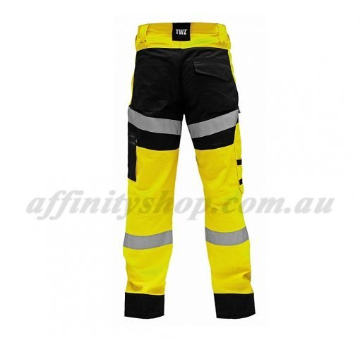 twz craftsman work pants ripstop trouser yellow/black