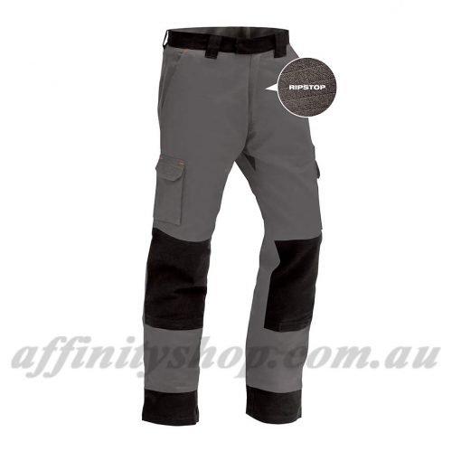 twz titan work pants ripstop grey cotton trouser TRBCOLW