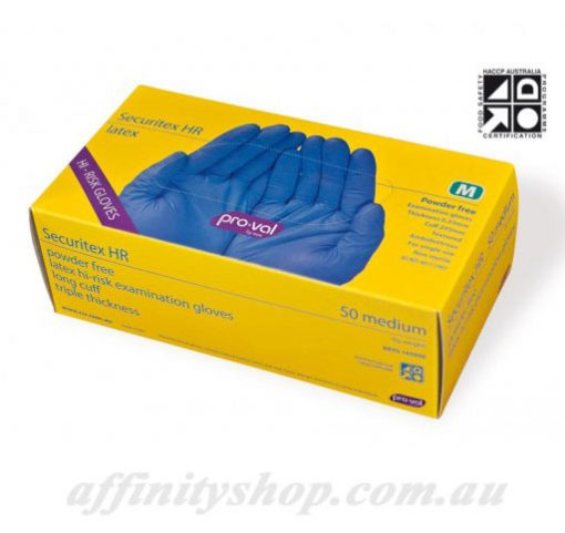 high risk latex examination gloves proval securitex hr