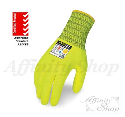 force360 bi-polymer cut 5 work gloves fpr121