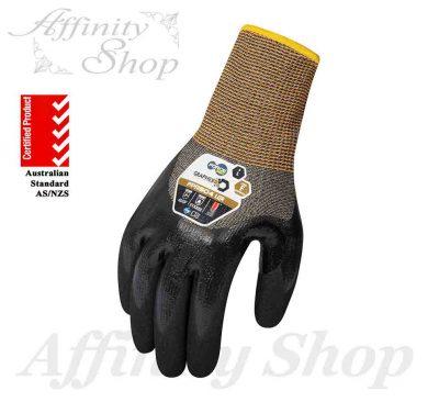 force360 graphex lqr gloves liquid protection fpr504