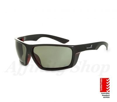 mack monterey safety glasses polarised green tint lens MKMNTEREY