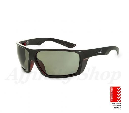 mack monterey safety glasses polarised green tint lens MKMNTEREY