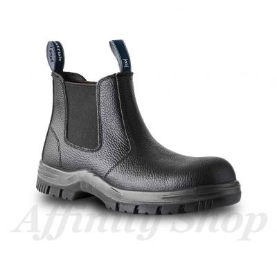 bata hercules leather work boots black