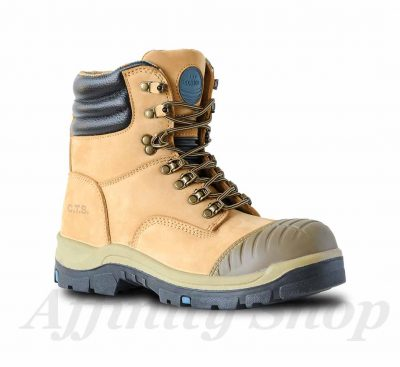 bata patriot work boots wheat leather safety footwear