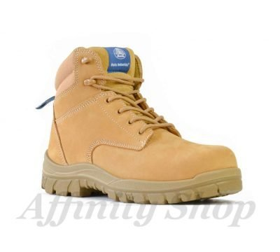 bata titan work boots wheat leather lace up safety footwear