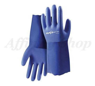 ninja multi-tech pvc chemical gloves NIPVCHEM