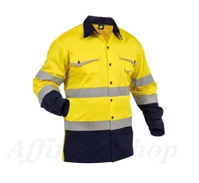 twz work shirts reflective tape day or night snbco