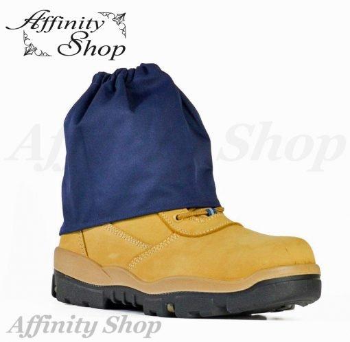 bata boot protectors over boot sock covers navy