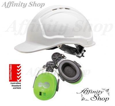 hard hat earmuff combo force360 wave earmuffs
