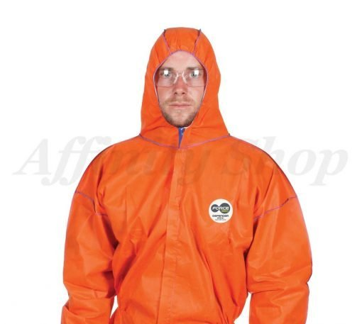 force360 defender coveralls orange safety suit cfpr181