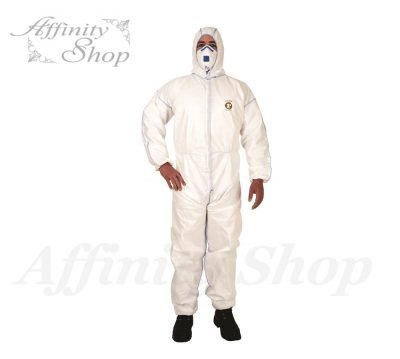 frontier white shield disposable coveralls frcvrlsms