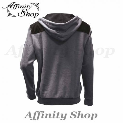 mack alloy fleece hoodie workwear jumper