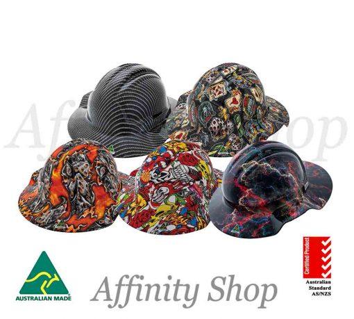 wide brim hard hats force360 hydro dip