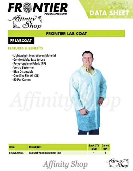 lab coats disposable blue non-woven coverall datasheet