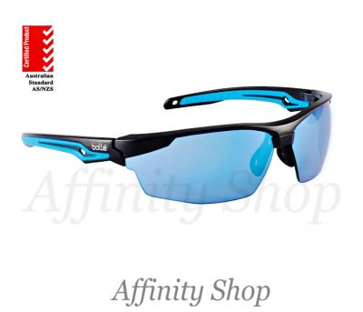 bolle tryon safety glasses blue flash