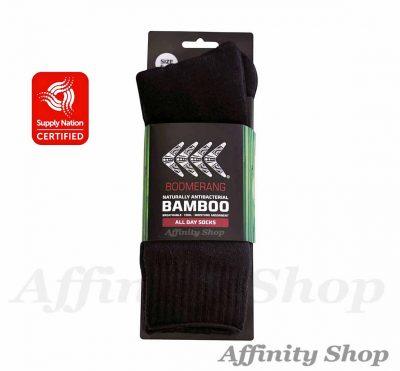 bamboo work socks boomerang cwbamsock