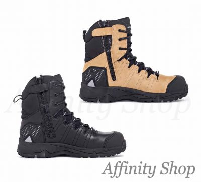 mack terrapro work boots zip leather mkterrprz